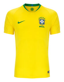 Adult Brazil Home 18/19 Jersey