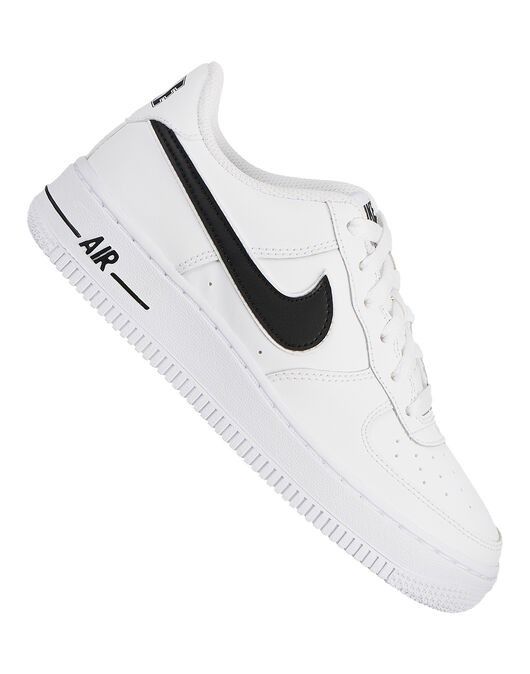 dbe3a0ec45 Kid's White Nike Air Force 1 | Life Style Sports