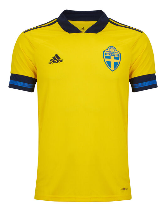 Adult Sweden Euro 2020 Home Jersey