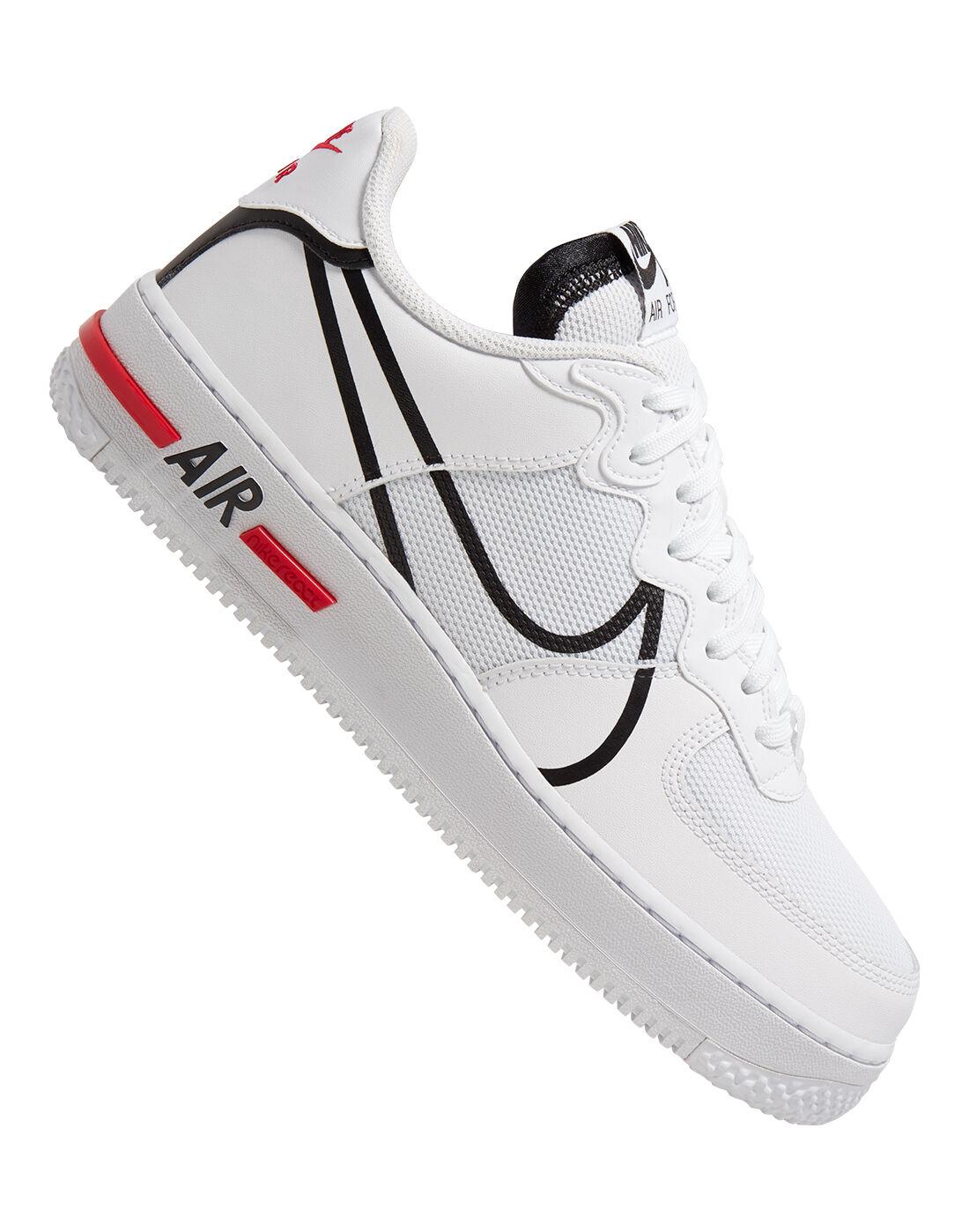 Nike Mens Air Force 1 React - White
