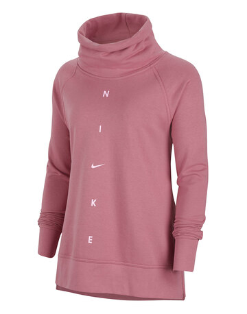 Womens Dry Get Fit Cowl Sweatshirt