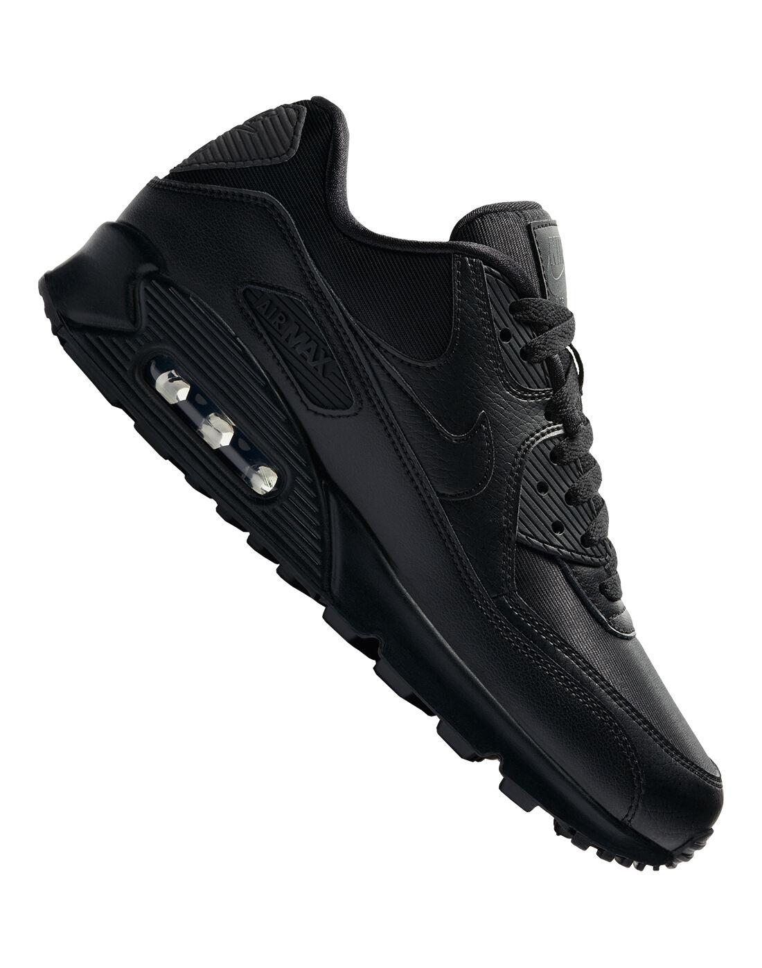 Women's Black Nike Air Max 90   Life