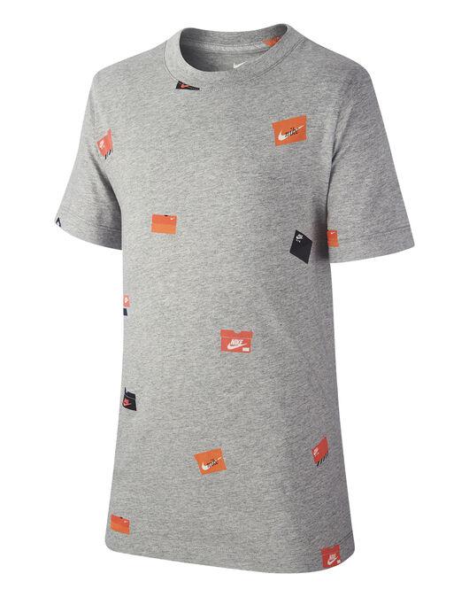 00e9b192d8 Nike Older Boys Shoe Box Print T-Shirt