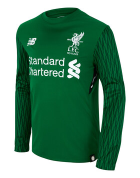 Kids Liverpool 17/18 Home GK Jersey