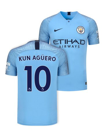 b11fc53edad Adult Man City Aguero Home Jersey