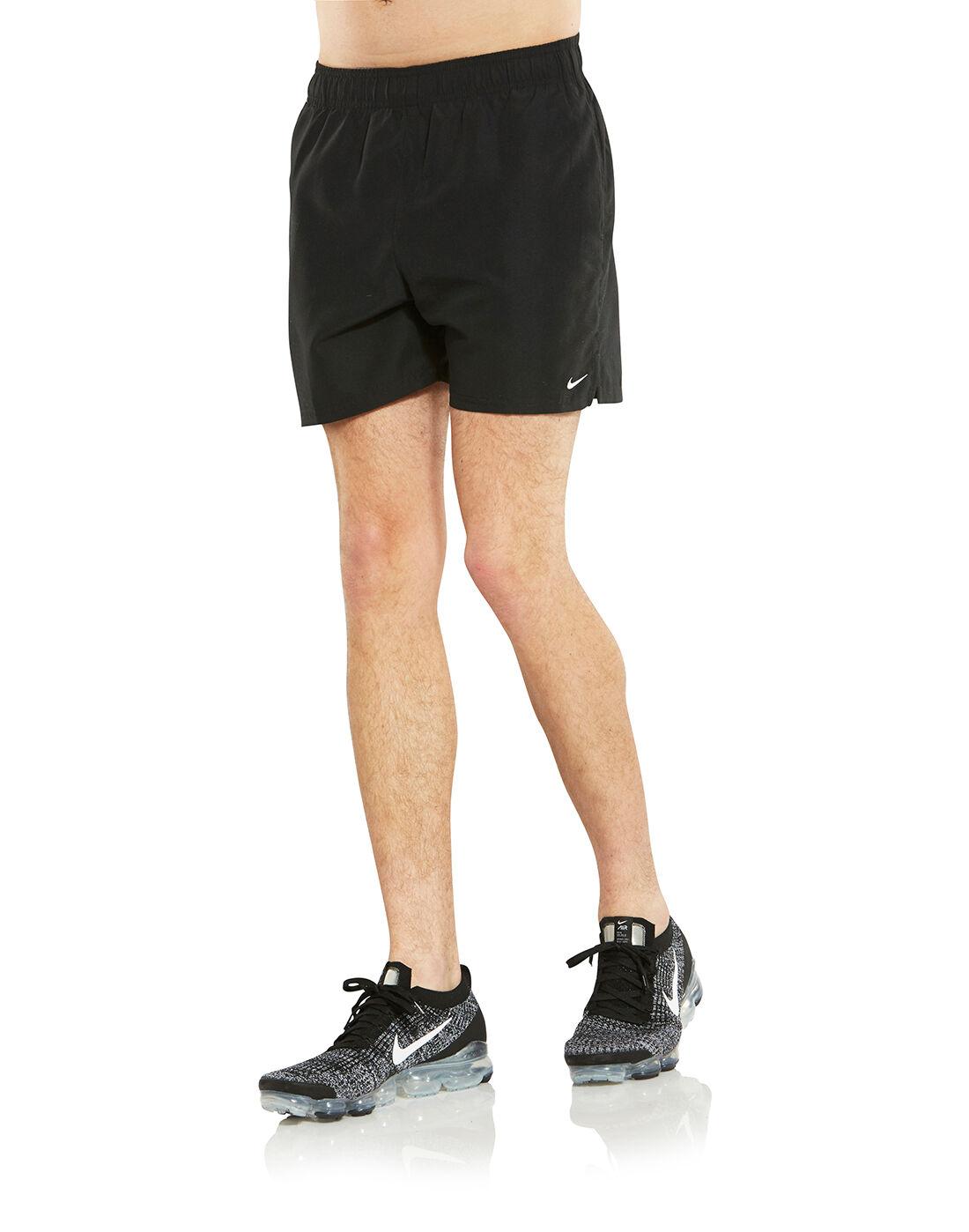 Nike Mens 5 Inch Volley Shorts - Black | Life Style Sports EU