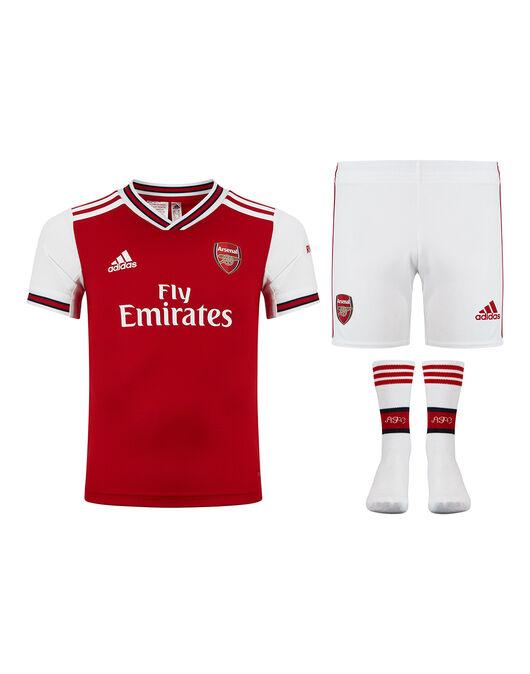 finest selection dfb0b f55b1 adidas Kids Arsenal 19/20 Mini Kit