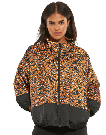 Womens Woven Printed Jacket