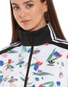 Womens Printed Track Top