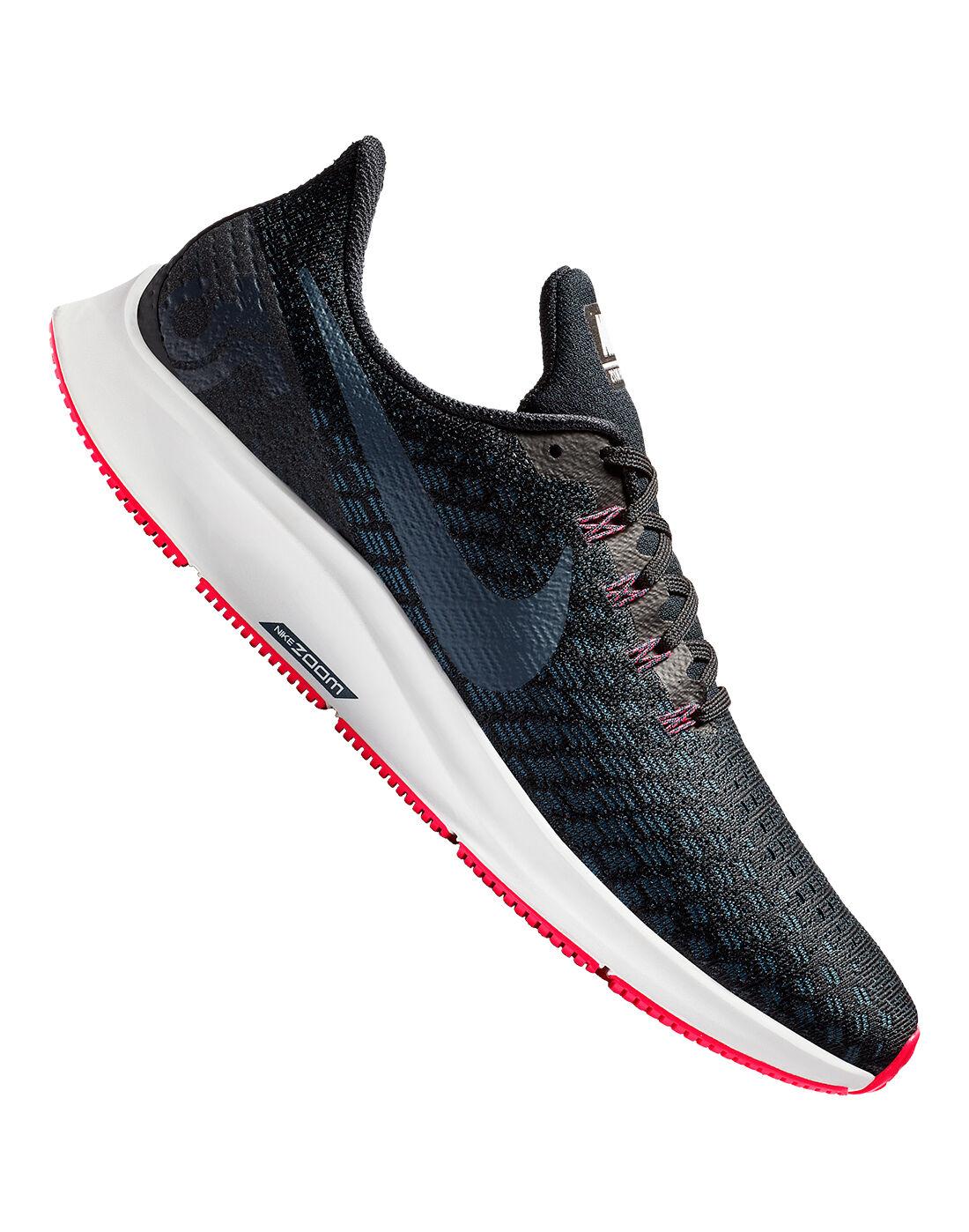 Men's Black \u0026 Red Nike Pegasus 35