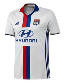 Adult Lyon Home 2016/17 Jersey