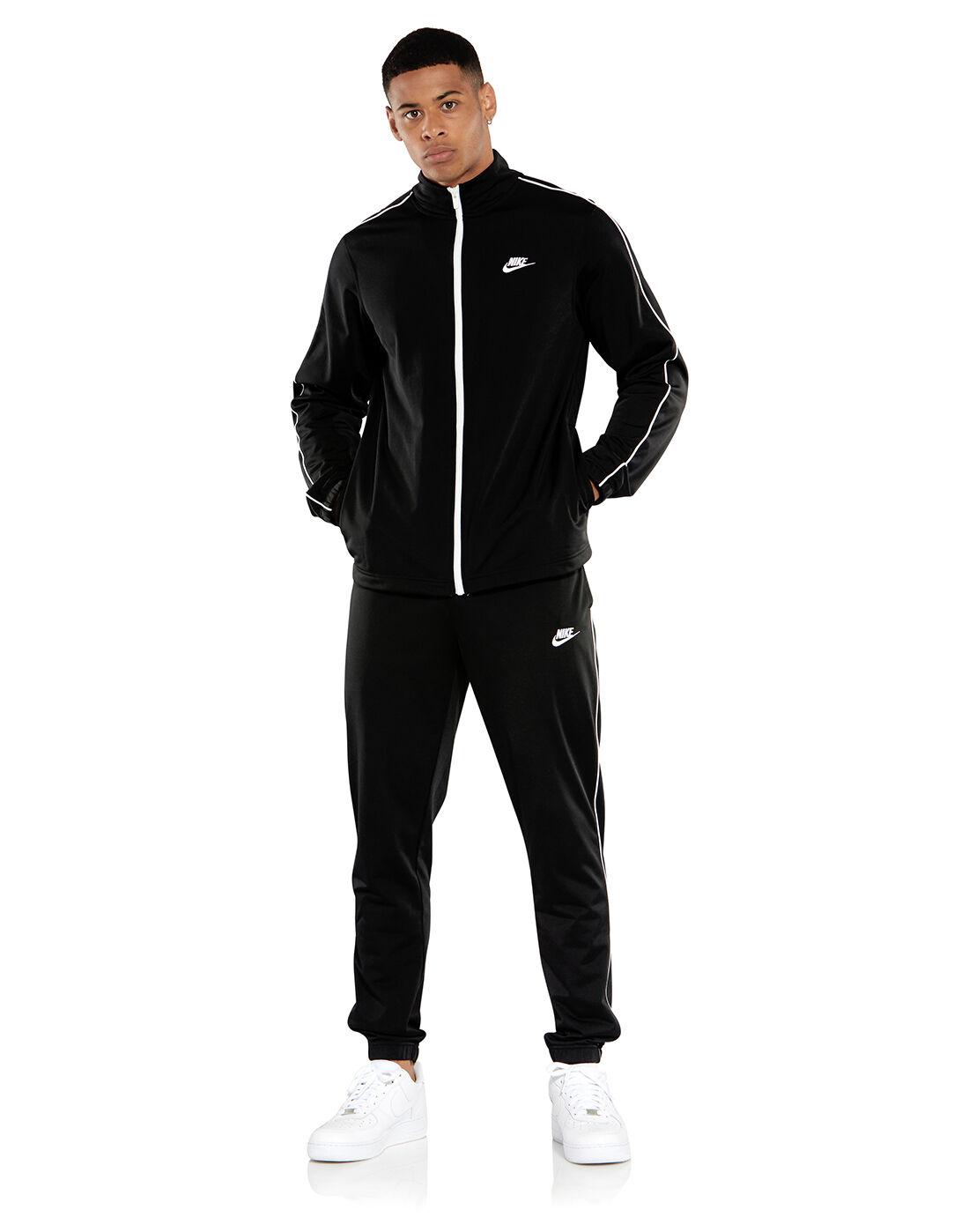 Men's Black Full Nike Tracksuit   Life Style Sports