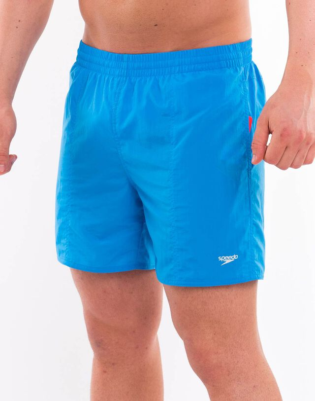 Mens Solid 16 Inch Water Shorts