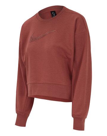 Womens Dry Get Fit Crewneck Sweatshirt
