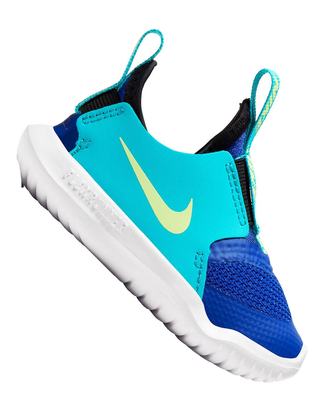 Nike Infants Flex Runner - Blue   Life