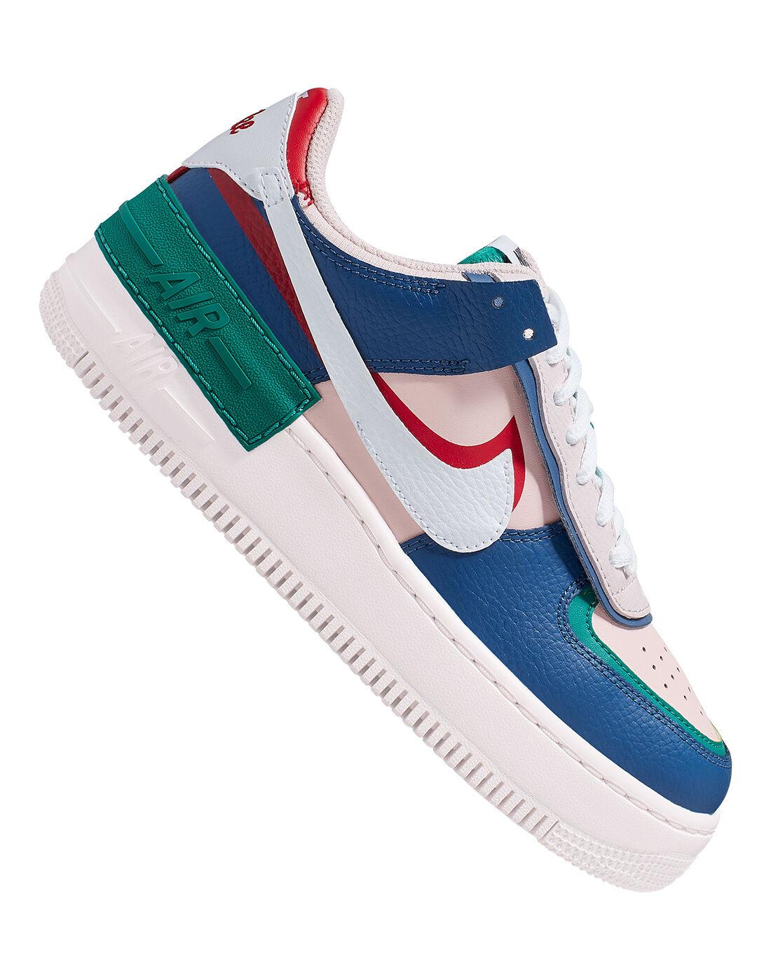 Nike Womens Air Force 1 Shadow - Blue