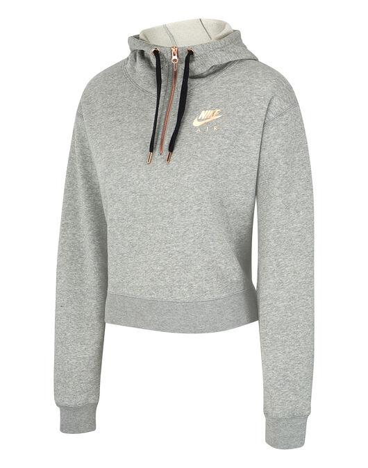 7adcc51ed21c Nike Womens Air Half Zip Hoodie