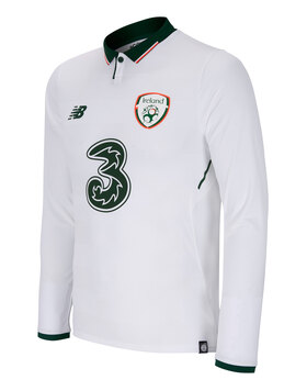 Adult Ireland Long Sleeve Away Jersey
