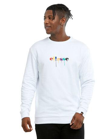 Mens Colour Dip Crew Neck Sweatshirt