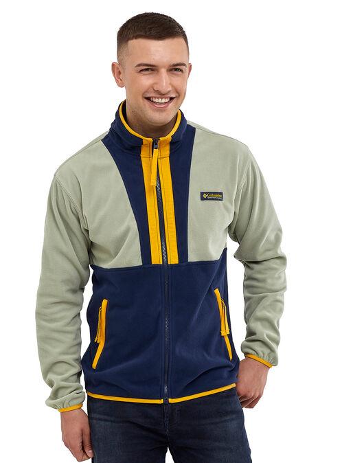 Mens Backbowl Fleece Track Top