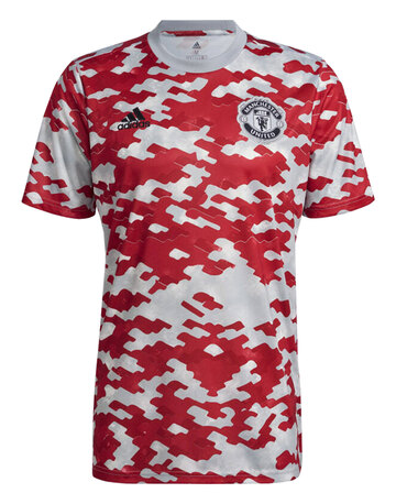 Adult Manchester United 21/22 Pre Match Jersey