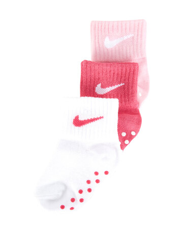 Cribs 3 Pack Swoosh Non Slip Ankle Socks