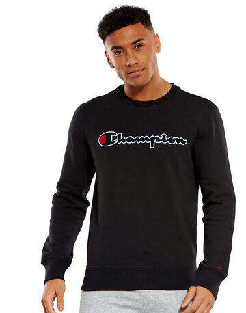 Mens Full Logo Crew Sweatshirt