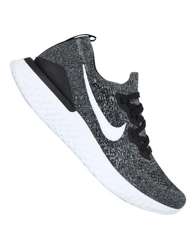 Nike Womens Epic React Flyknit 2 - Black - 4