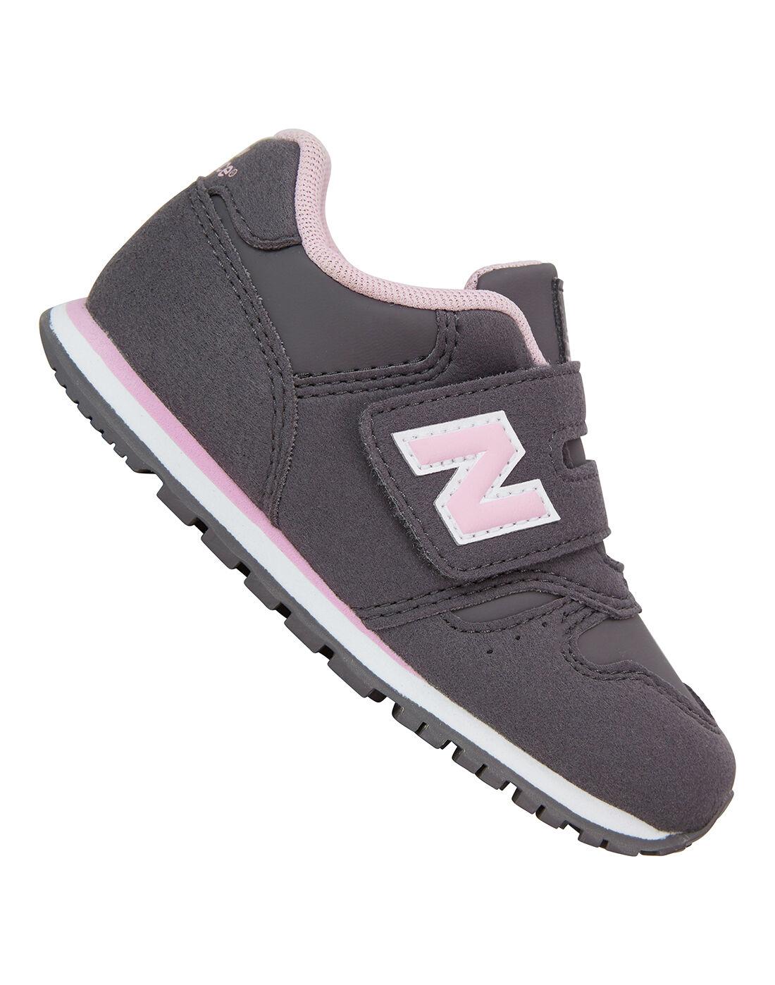 New Balance Infant Girls 373 Trainer - Grey | Life Style Sports EU