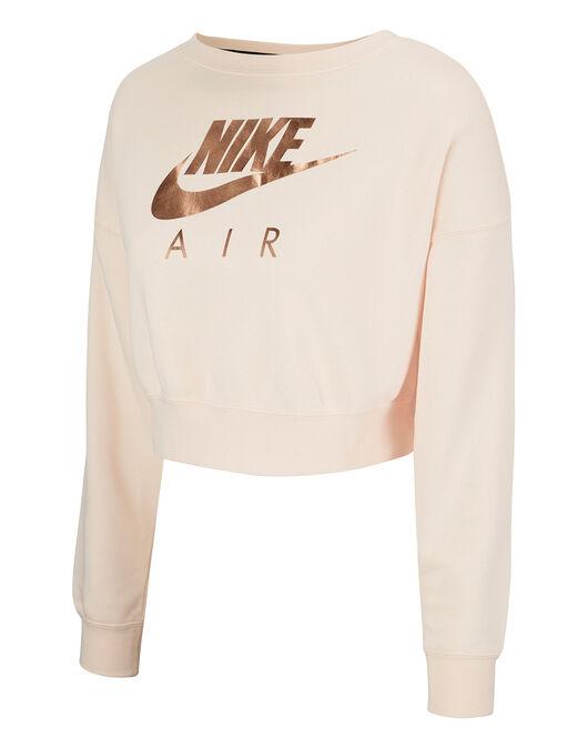 Vacunar La forma Perforar  Women's Nike Air Crew   Pink   Life Style Sports