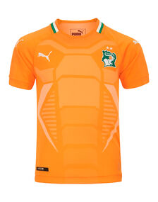 Kids Ivory Coast Home WC18 Jersey
