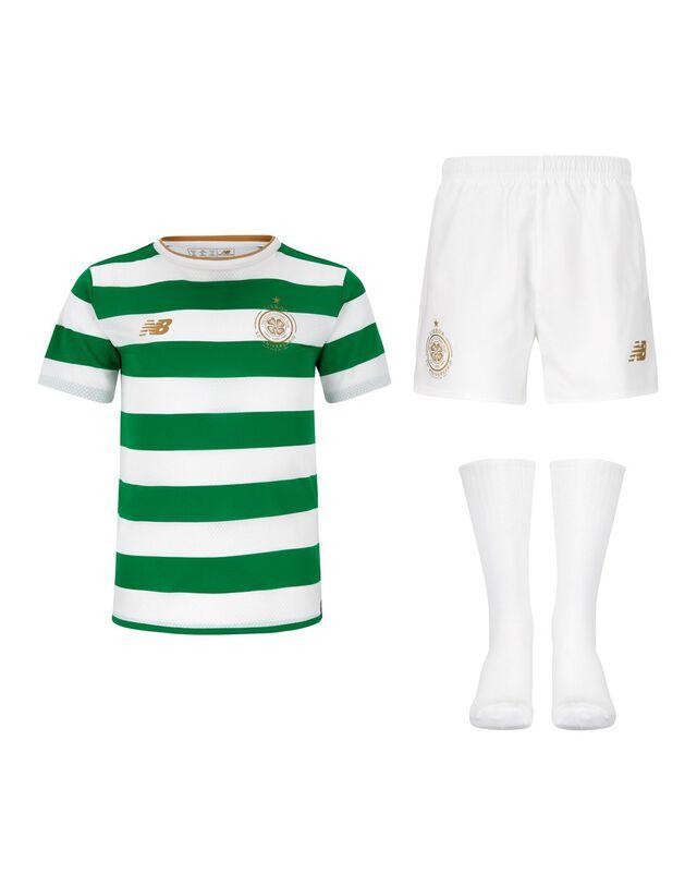 Kids Celtic 17/18 Home Kit