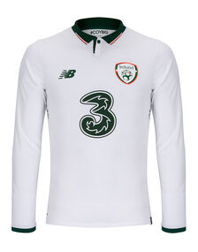 Adult Ireland Long Sleeve Away Jersey
