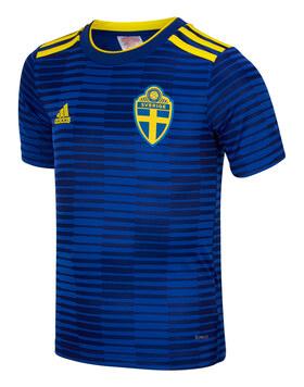 Kids Sweden WC18 Away Jersey
