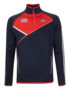 Mens Cork Conall Half Zip Top