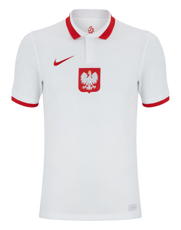 Adult Poland Euro 2020 Home Jersey