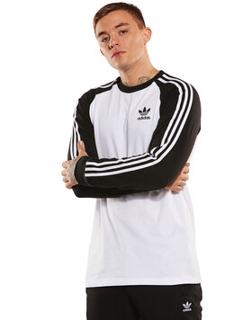 Mens 3-Stripe Long Sleeve T-Shirt