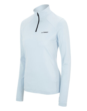 Womens Multi Half Zip Fleece Top