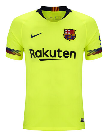b0efa7d9d Adult Barcelona 18 19 Away Jersey ...