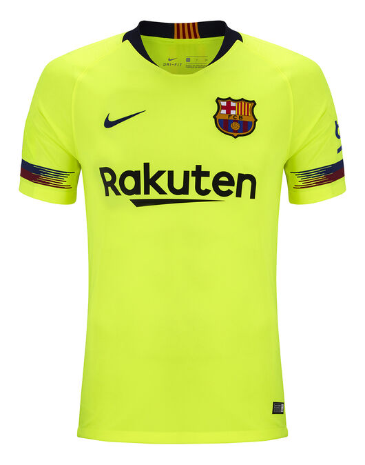 76c4c229a4e Adult Barcelona 18 19 Away Jersey