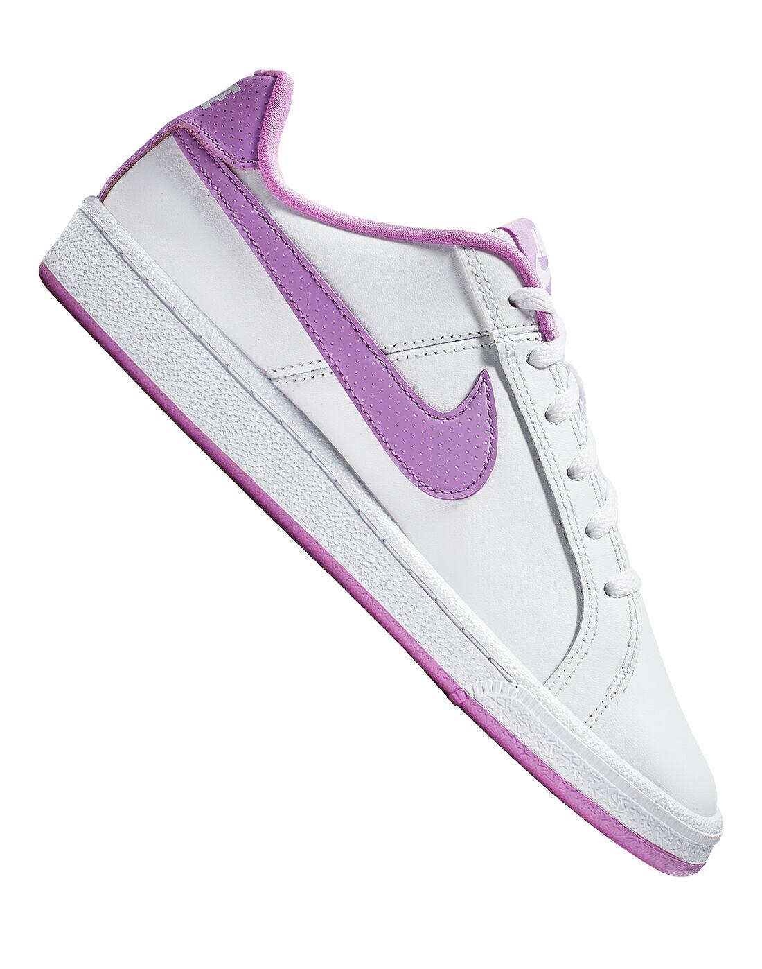 Purple Nike Court Royale Trainers