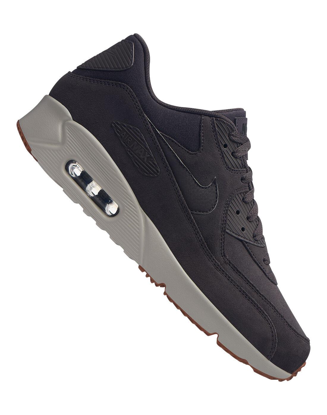 Men's Grey Nike Air Max 90 Ultra 2.0