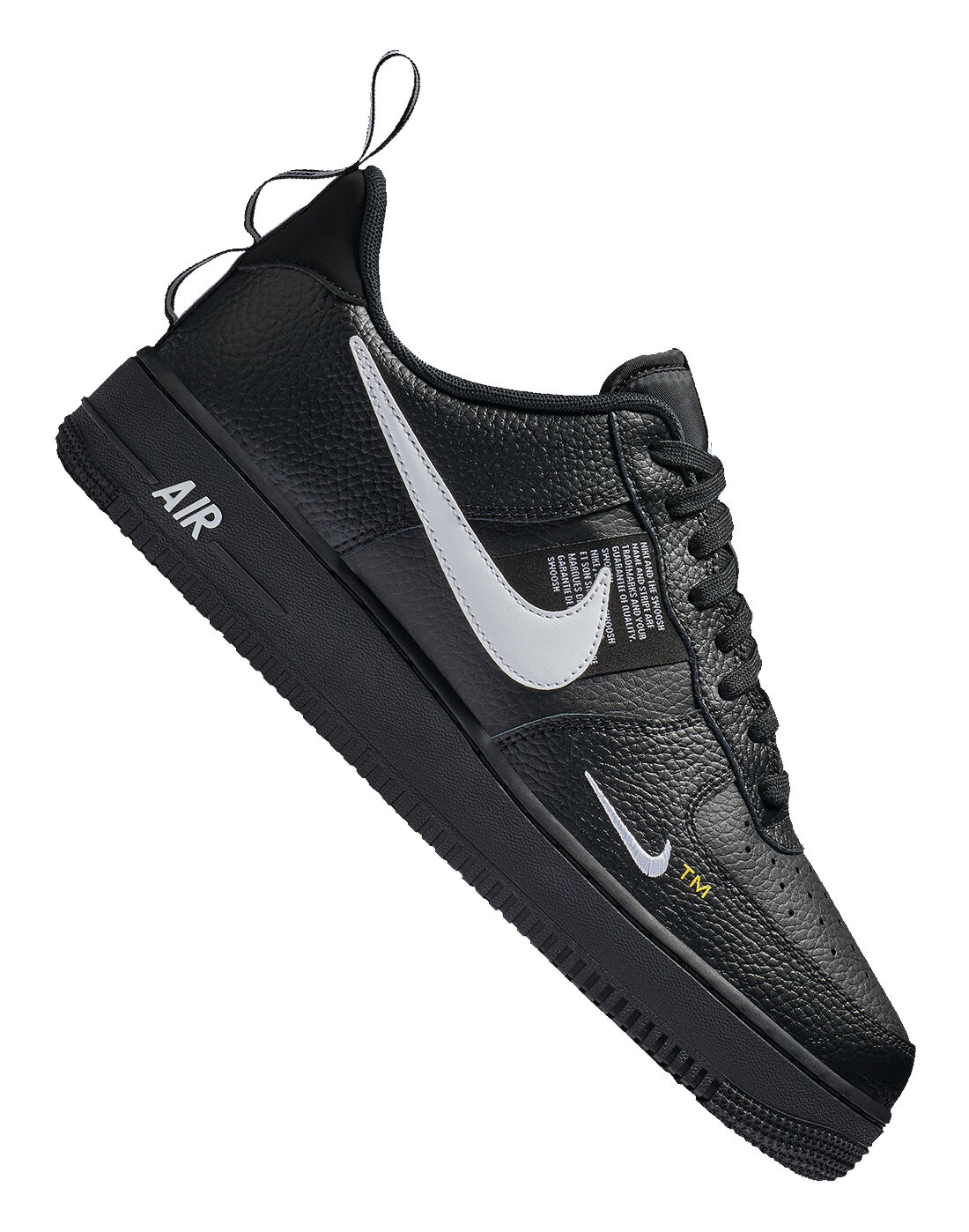 Men's Black Nike Air Force 1 Utility