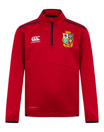 Kids British And Irish Lions 2021 Thermo Quarter Zip Top