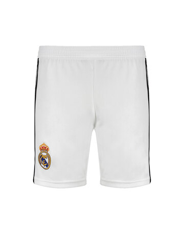 336a05272 Kids Real Madrid 18 19 Home Shorts ...