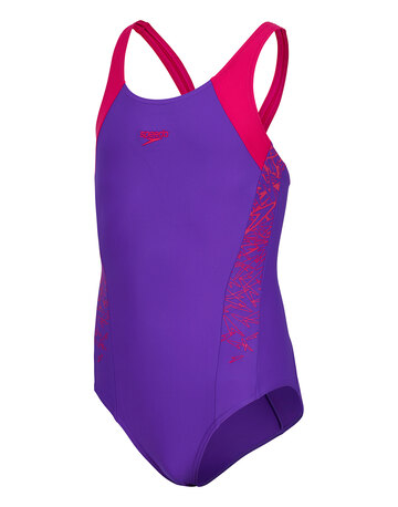 Older Girls Splice Muscleback Swimsuit