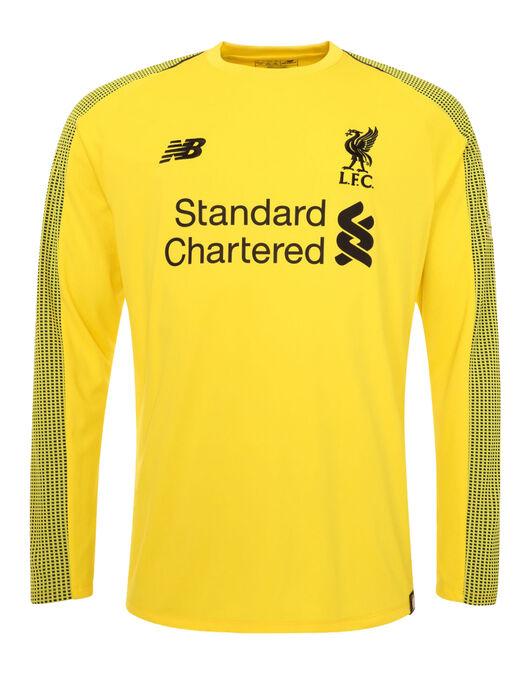 meet e90d7 d4ee2 Liverpool 18/19 Goalkeeper Home Jersey   Life Style Sports
