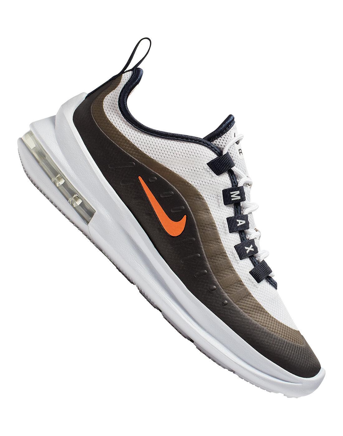 Kid's White \u0026 Brown Nike Air Max Axis