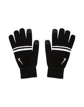 Mens Striped Knit Tech Glove