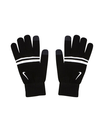 Mens Striped Knit Tech Glove
